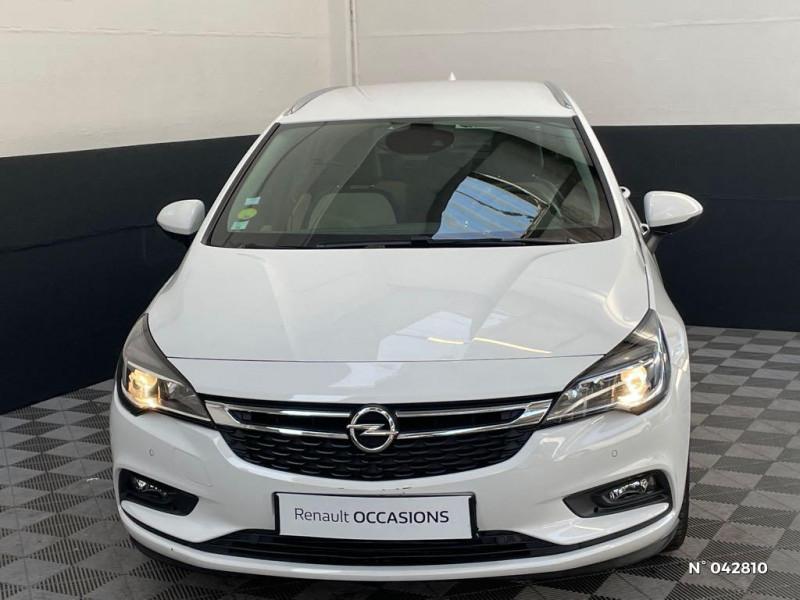 Opel Astra Sports tourer 1.6 CDTI 136ch Start&Stop Elite Blanc occasion à Boulogne-sur-Mer - photo n°2