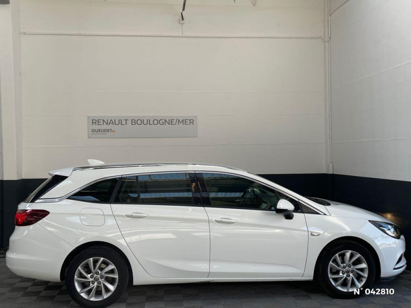 Opel Astra Sports tourer 1.6 CDTI 136ch Start&Stop Elite Blanc occasion à Boulogne-sur-Mer - photo n°7