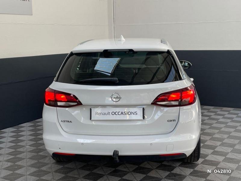 Opel Astra Sports tourer 1.6 CDTI 136ch Start&Stop Elite Blanc occasion à Boulogne-sur-Mer - photo n°3