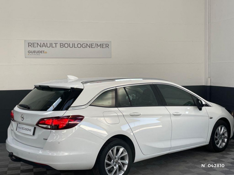 Opel Astra Sports tourer 1.6 CDTI 136ch Start&Stop Elite Blanc occasion à Boulogne-sur-Mer - photo n°6