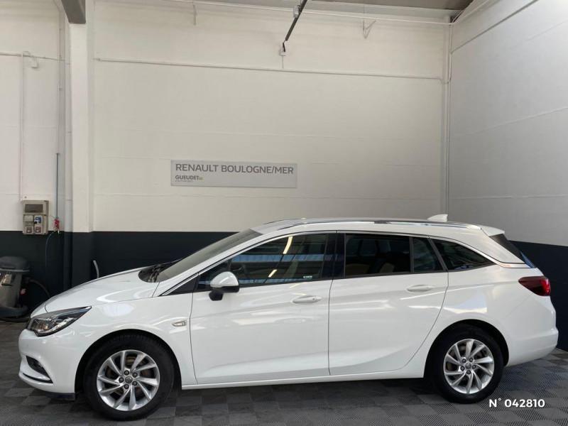 Opel Astra Sports tourer 1.6 CDTI 136ch Start&Stop Elite Blanc occasion à Boulogne-sur-Mer - photo n°8