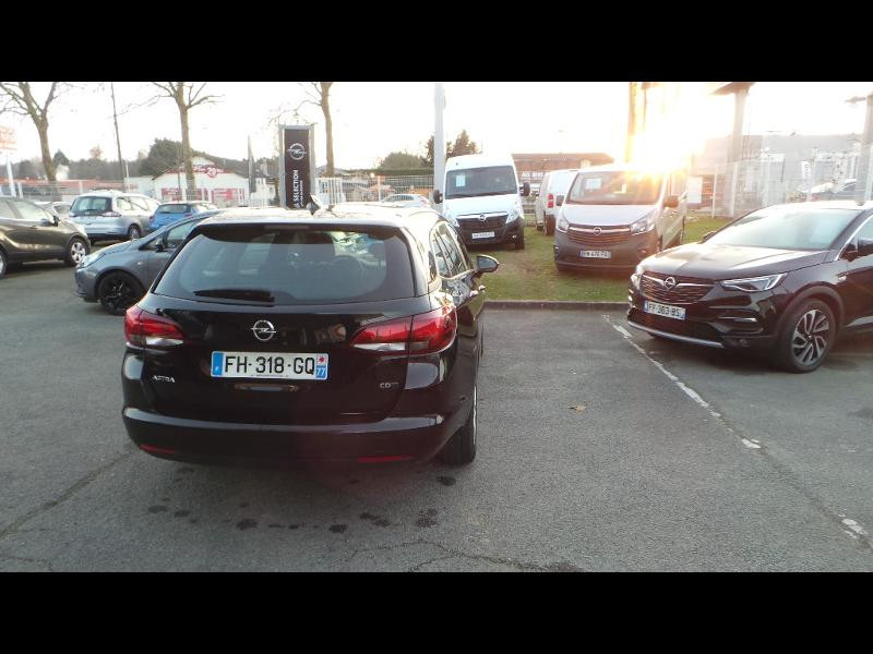 Opel Astra Sports tourer 1.6 D 110ch Edition Business Euro6d-T Noir occasion à Brie-Comte-Robert - photo n°3