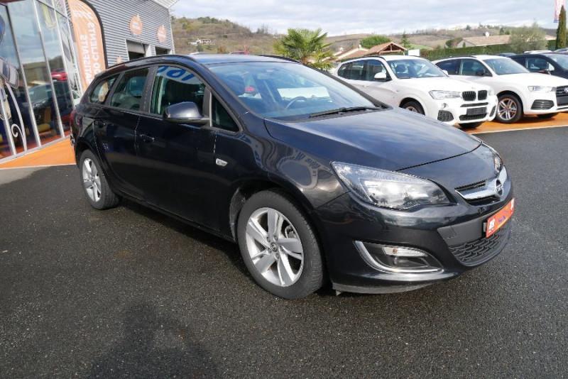 Opel Astra Sports tourer 1.7 CDTI 110 EDITION JA Noir occasion à Lescure-d'Albigeois - photo n°8