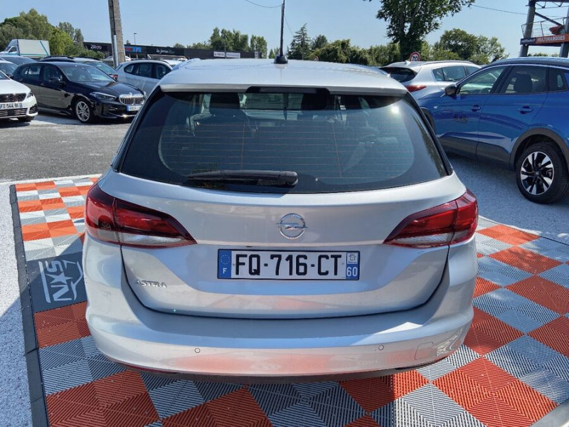 Opel Astra Sports tourer NEW 1.5 D 122 BV6 ELEGANCE GPS Caméra Gris occasion à Toulouse - photo n°6