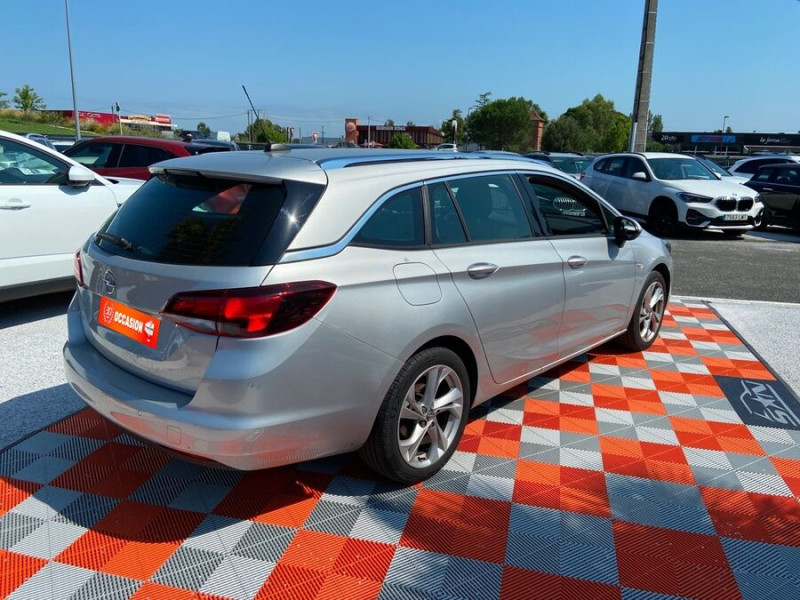 Opel Astra Sports tourer NEW 1.5 D 122 BV6 ELEGANCE GPS Caméra Gris occasion à Toulouse - photo n°2