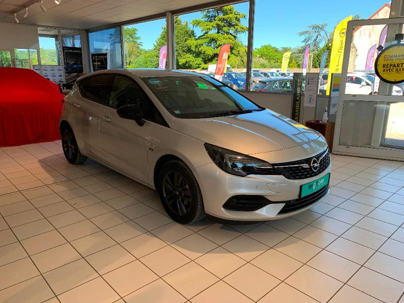 Opel Astra 1.2 Turbo 110ch Opel 2020 Gris occasion à Meaux - photo n°3