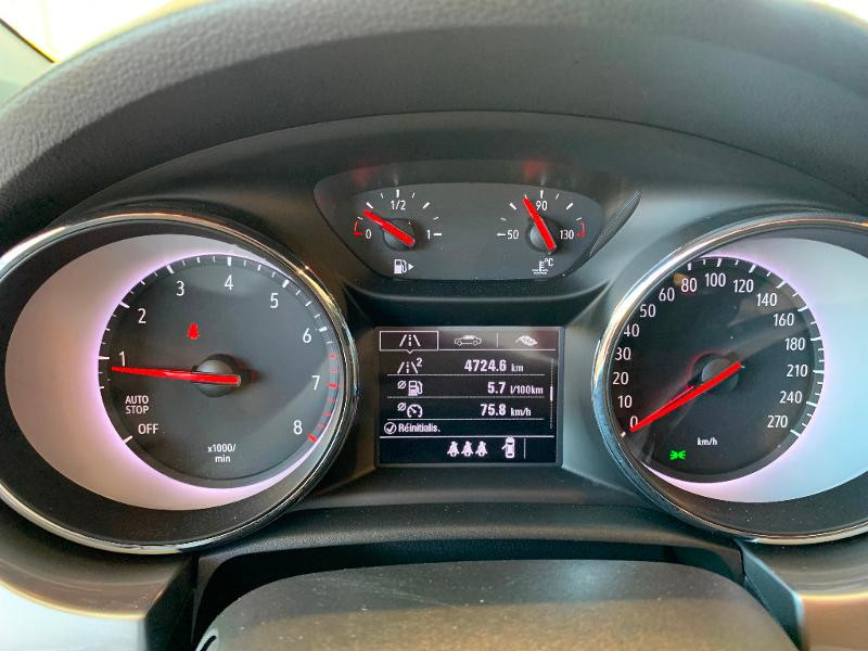 Opel Astra 1.2 Turbo 110ch Opel 2020 Gris occasion à Meaux - photo n°13
