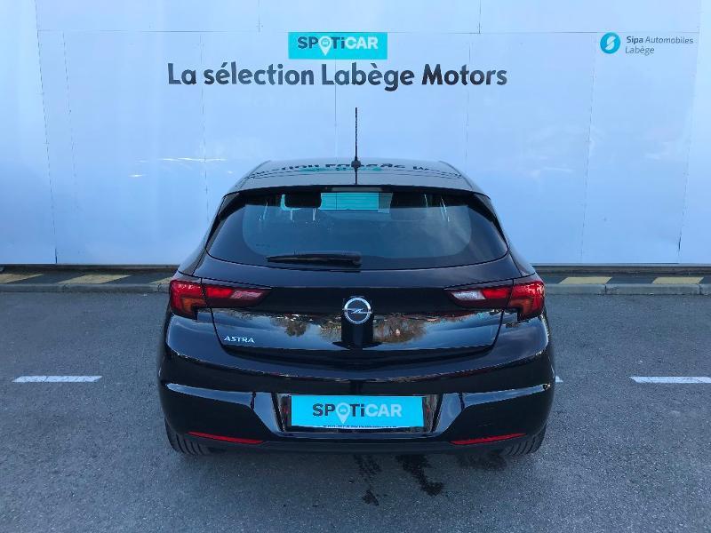 Opel Astra 1.2 Turbo 130ch Elegance 7cv Noir occasion à Labège - photo n°5