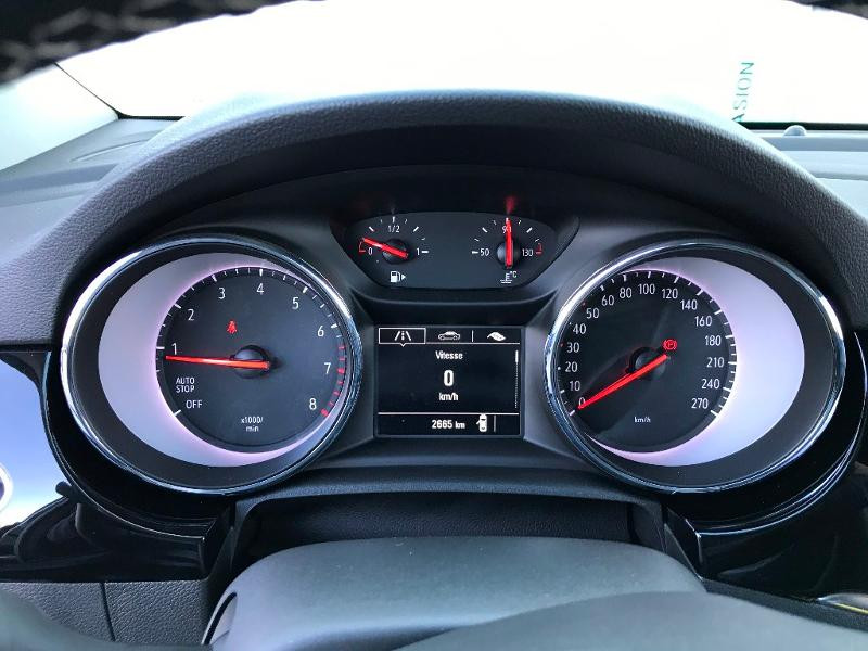 Opel Astra 1.2 Turbo 130ch Elegance 7cv Noir occasion à Labège - photo n°14