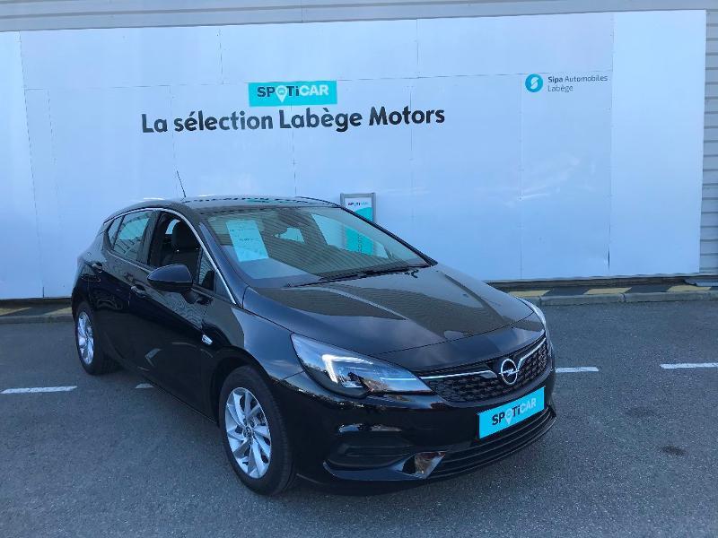 Opel Astra 1.2 Turbo 130ch Elegance 7cv Noir occasion à Labège - photo n°3