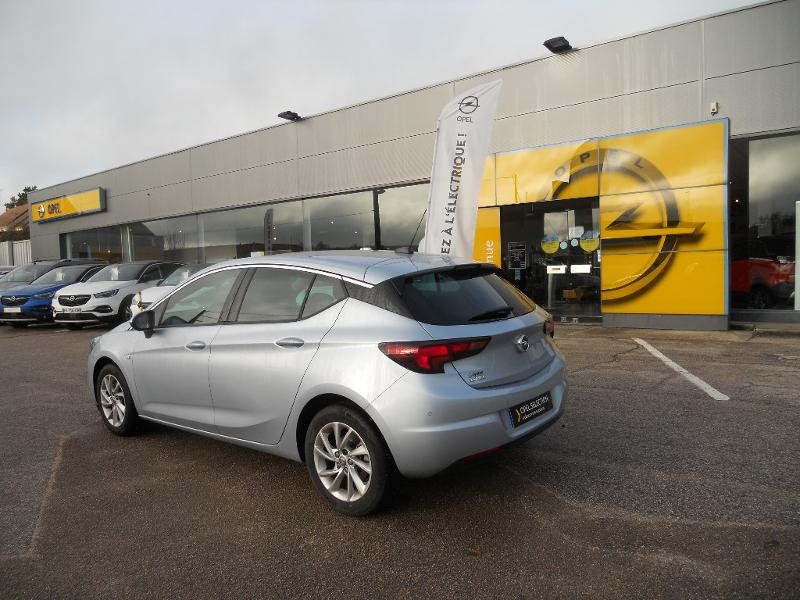 Opel Astra 1.2 Turbo 130ch Elegance Gris occasion à Auxerre - photo n°3