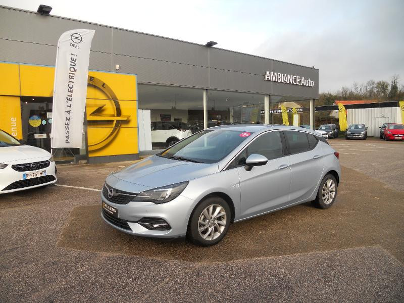 Opel Astra 1.2 Turbo 130ch Elegance Gris occasion à Auxerre