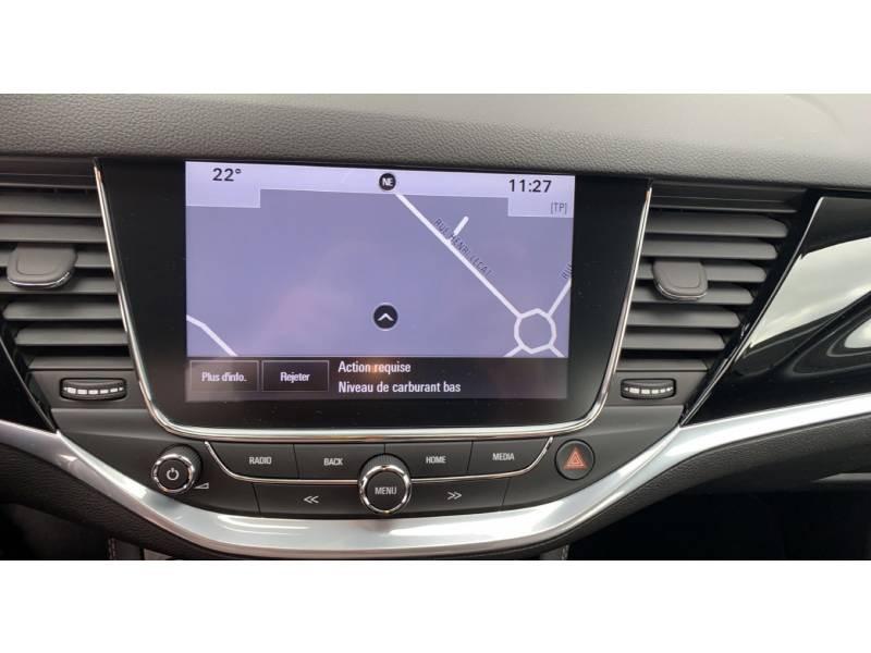 Opel Astra 1.4 Turbo 125 ch Start/Stop Innovation Noir occasion à Brive-la-Gaillarde - photo n°8