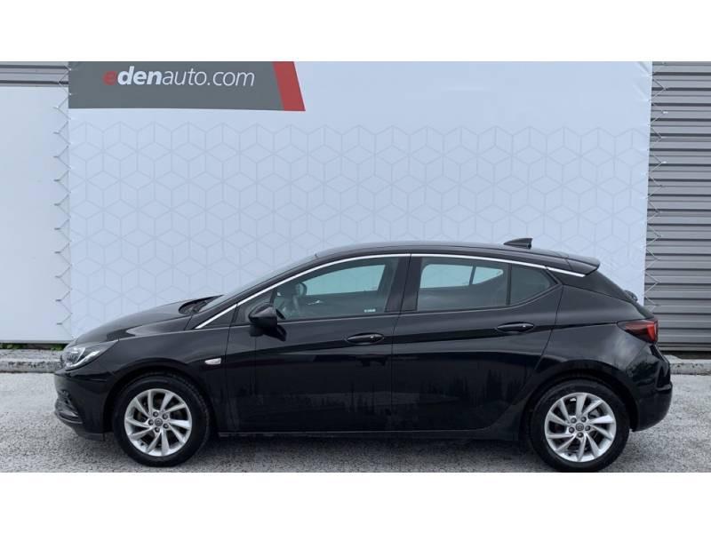 Opel Astra 1.4 Turbo 125 ch Start/Stop Innovation Noir occasion à Brive-la-Gaillarde - photo n°2