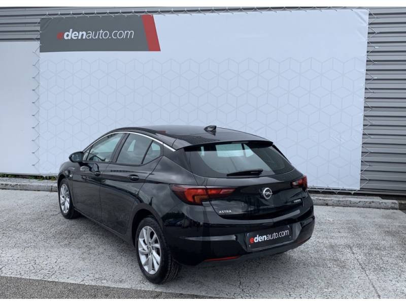 Opel Astra 1.4 Turbo 125 ch Start/Stop Innovation Noir occasion à Brive-la-Gaillarde - photo n°3