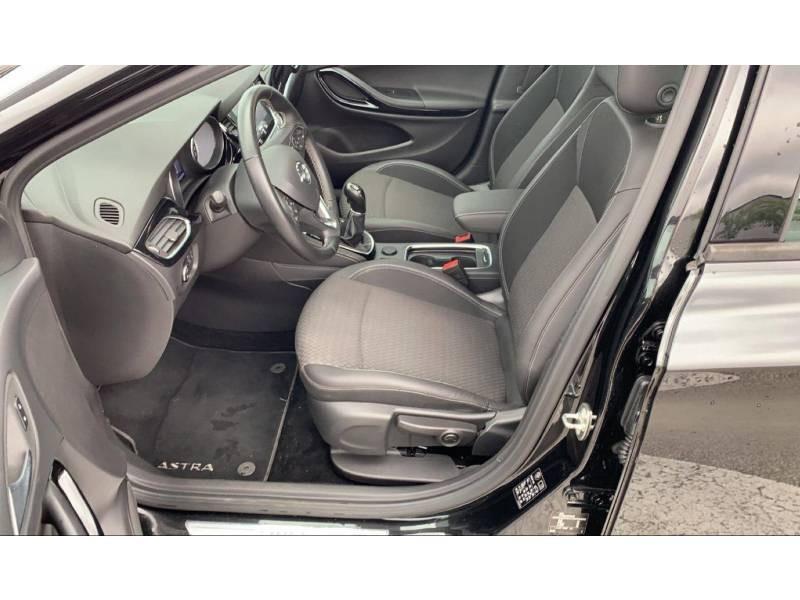 Opel Astra 1.4 Turbo 125 ch Start/Stop Innovation Noir occasion à Brive-la-Gaillarde - photo n°5