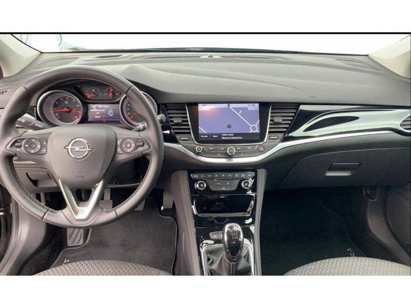 Opel Astra 1.4 Turbo 125 ch Start/Stop Innovation Noir occasion à Brive-la-Gaillarde - photo n°6