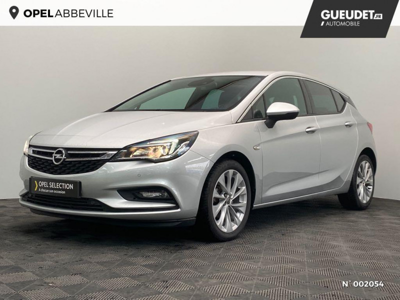 Opel Astra 1.4 Turbo 125ch Elite Euro6d-T Gris occasion à Abbeville