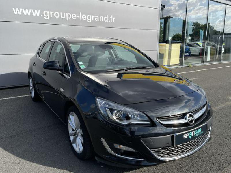 Opel Astra 1.4 Turbo 140ch Cosmo Start&Stop Noir occasion à Le Mans