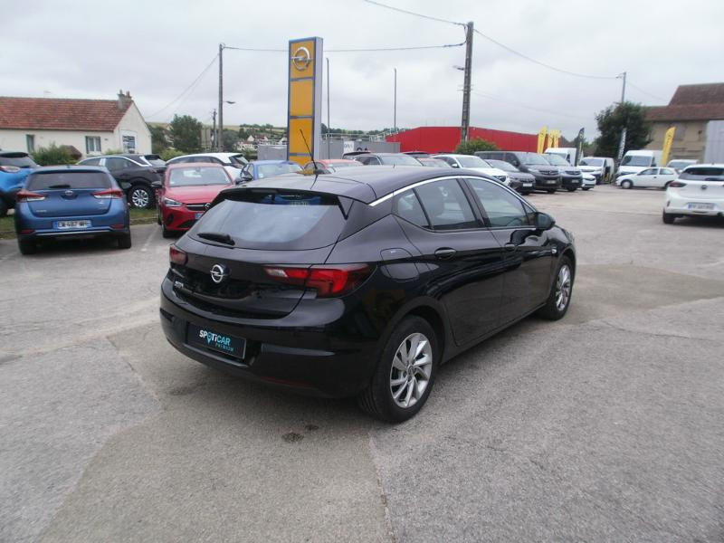 Opel Astra 1.4 Turbo 145ch Elegance CVT 8cv Noir occasion à Auxerre - photo n°5
