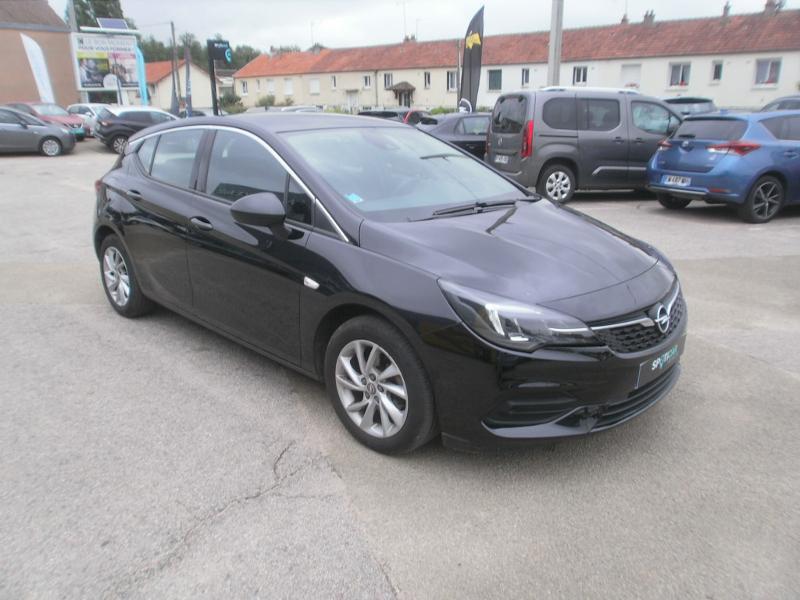 Opel Astra 1.4 Turbo 145ch Elegance CVT 8cv Noir occasion à Auxerre - photo n°7