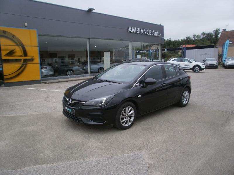 Opel Astra 1.4 Turbo 145ch Elegance CVT 8cv Noir occasion à Auxerre
