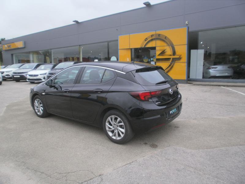Opel Astra 1.4 Turbo 145ch Elegance CVT 8cv Noir occasion à Auxerre - photo n°3