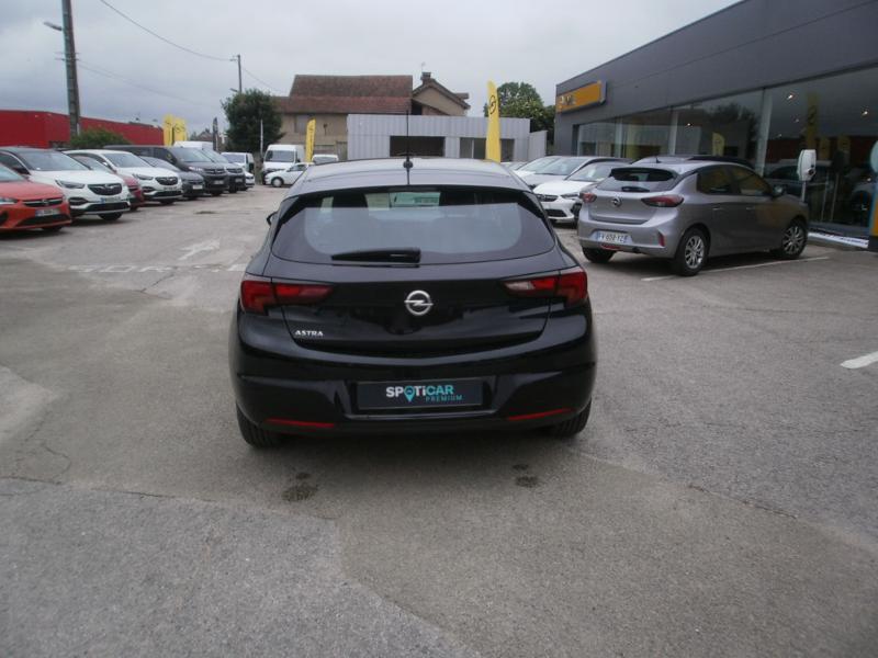 Opel Astra 1.4 Turbo 145ch Elegance CVT 8cv Noir occasion à Auxerre - photo n°4