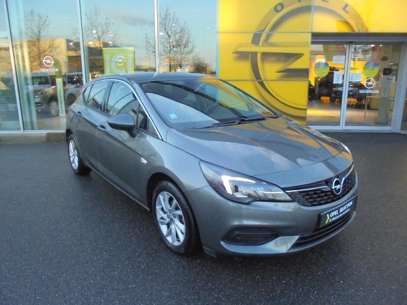 Opel Astra 1.4 Turbo 145ch Elegance CVT Gris occasion à Varennes-sur-Seine