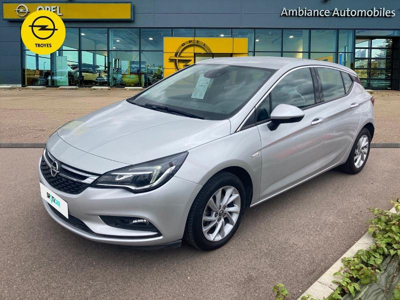 Opel Astra 1.4 Turbo 150ch Innovation Automatique Euro6d-T Gris occasion à Barberey-Saint-Sulpice