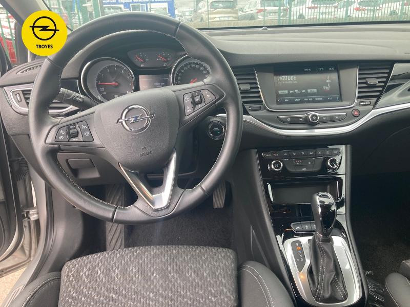 Opel Astra 1.4 Turbo 150ch Innovation Automatique Euro6d-T Gris occasion à Barberey-Saint-Sulpice - photo n°8