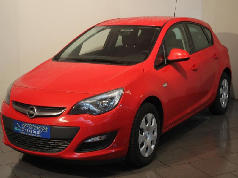 Opel Astra 1.4I 120 Rouge occasion à Brest