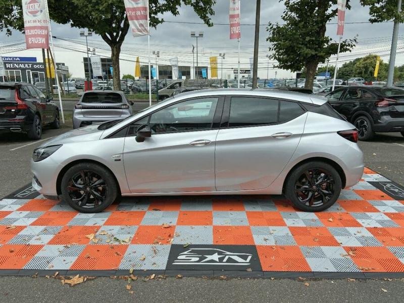 Opel Astra 1.5 D 105 BV6 2020 GPS Caméra JA 17 Gris occasion à Cahors - photo n°5