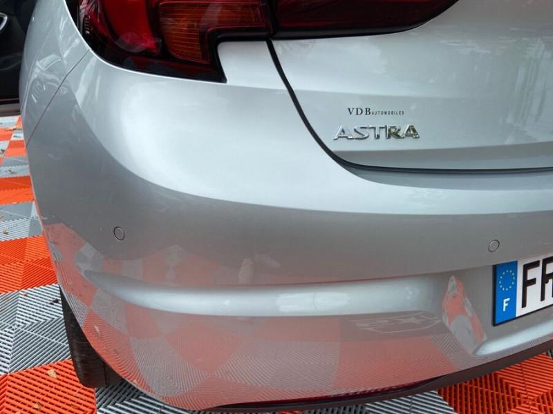 Opel Astra 1.5 D 105 BV6 2020 GPS Caméra JA 17 Gris occasion à Cahors - photo n°19