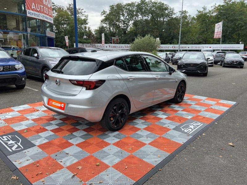 Opel Astra 1.5 D 105 BV6 2020 GPS Caméra JA 17 Gris occasion à Cahors - photo n°2