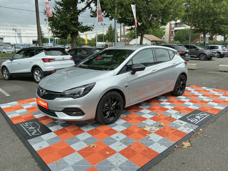 Opel Astra 1.5 D 105 BV6 2020 GPS Caméra JA 17 Gris occasion à Cahors
