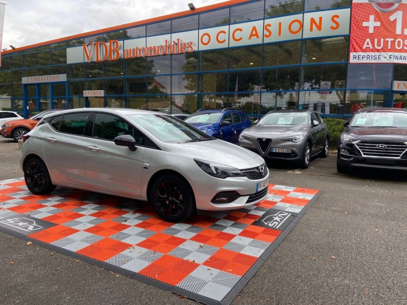 Opel Astra 1.5 D 105 BV6 2020 GPS Caméra JA 17 Gris occasion à Cahors - photo n°14