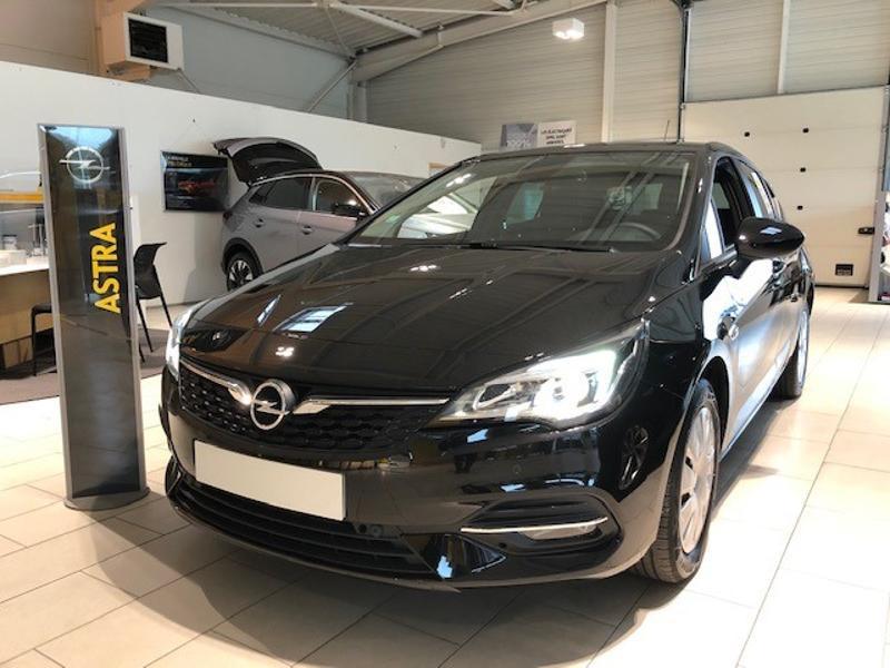 Opel Astra 1.5 D 122ch Edition Business BVA 109g Noir occasion à Vert-Saint-Denis