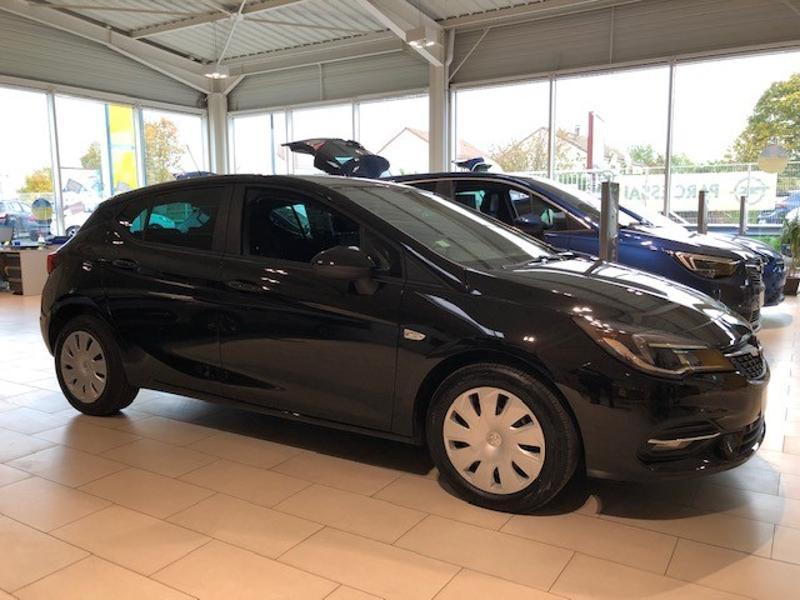 Opel Astra 1.5 D 122ch Edition Business BVA 109g Noir occasion à Vert-Saint-Denis - photo n°3