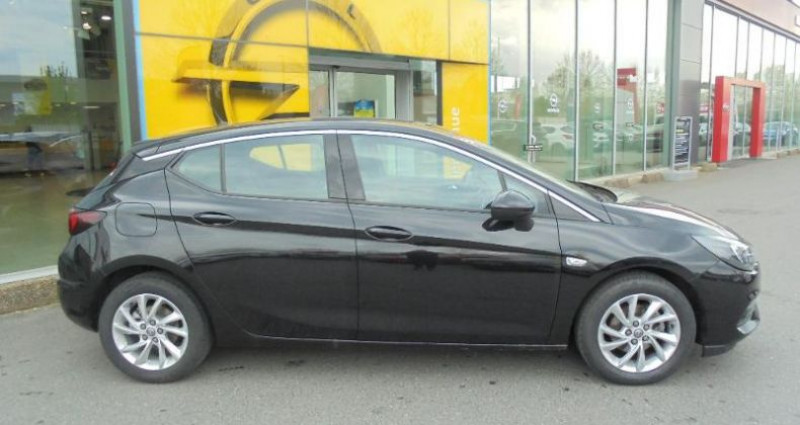 Opel Astra 1.5 D 122ch Elegance BVA 109g Noir occasion à vert-saint-denis - photo n°3