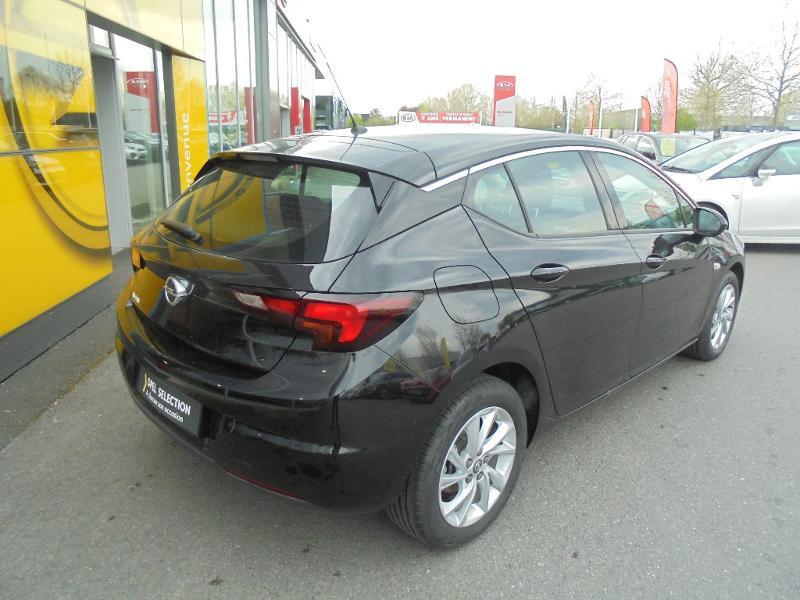 Opel Astra 1.5 D 122ch Elegance BVA 109g Noir occasion à Vert-Saint-Denis - photo n°2