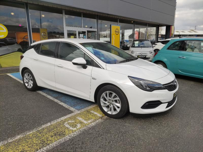 Opel Astra 1.5 D 122ch Elegance BVA Blanc occasion à Samoreau - photo n°5