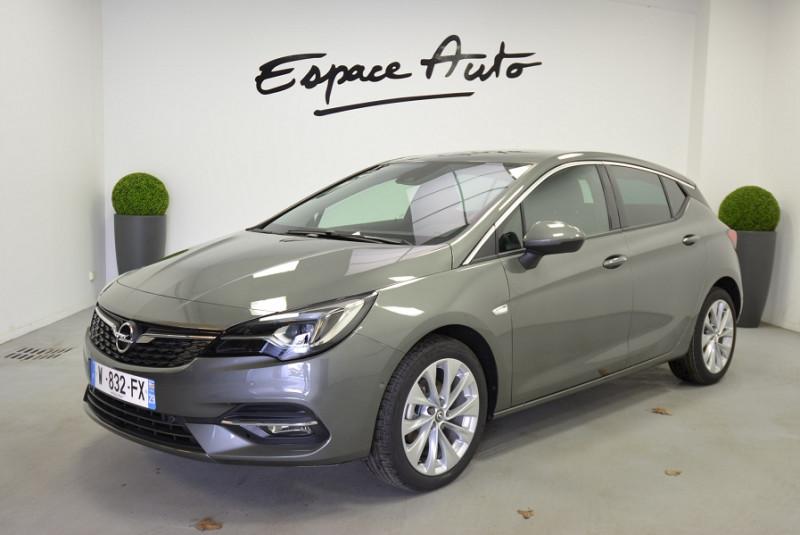 Opel Astra 1.5 D 122CH ELEGANCE Gris occasion à Quimper
