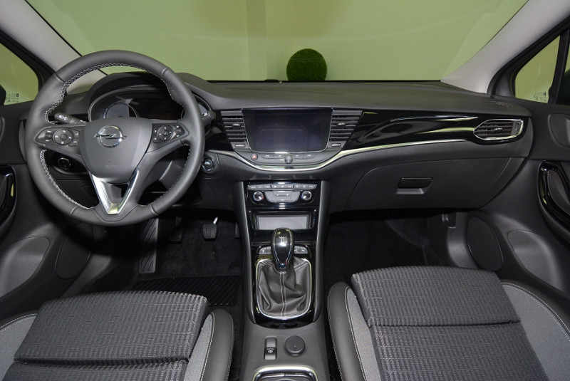 Opel Astra 1.5 D 122CH ELEGANCE Gris occasion à Quimper - photo n°4