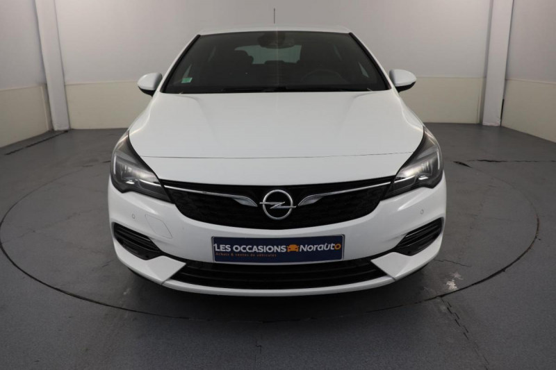 Opel Astra 1.5 Diesel 105 ch BVM6 Elegance Blanc occasion à Toulouse - photo n°2