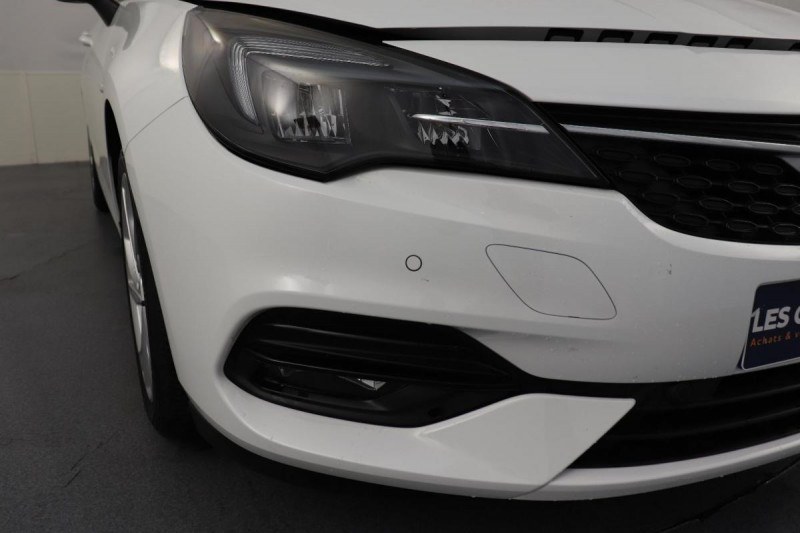 Opel Astra 1.5 Diesel 105 ch BVM6 Elegance Blanc occasion à Toulouse - photo n°8