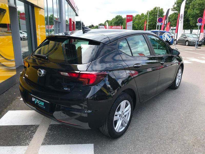 Opel Astra 1.6 D 110ch Business Edition Noir occasion à Corbeil-Essonnes - photo n°2
