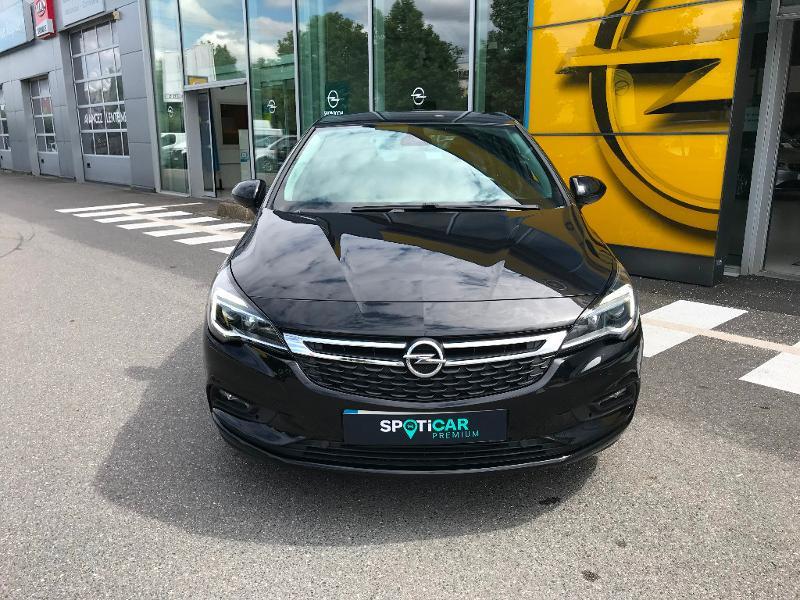 Opel Astra 1.6 D 110ch Business Edition Noir occasion à Corbeil-Essonnes - photo n°4