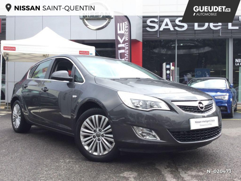 Opel Astra 1.7 CDTI 110ch FAP Cosmo Gris occasion à Saint-Quentin