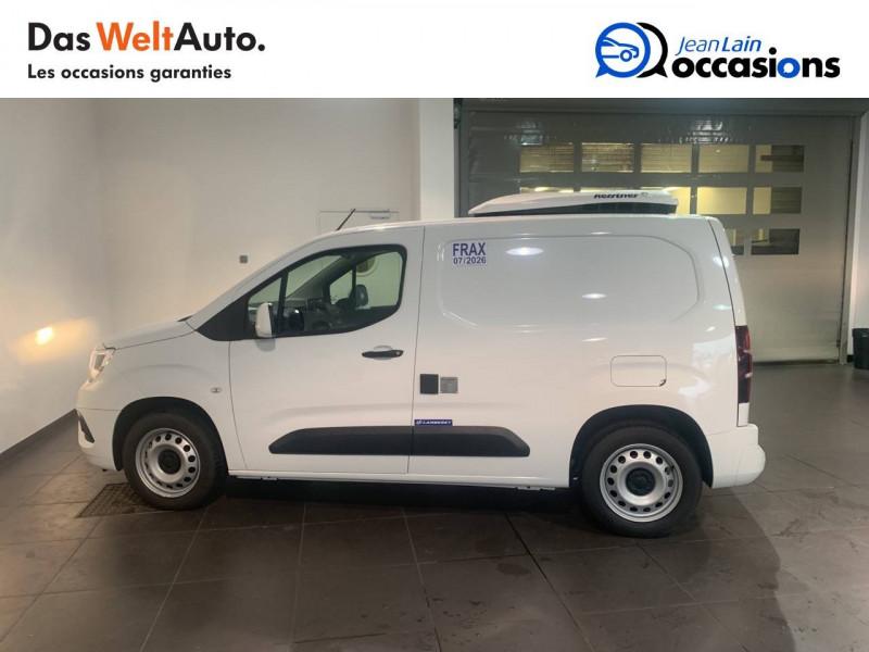 Opel Combo COMBO CARGO FRIGO 1.5 100 ch 4P 3PL PACK CLIM 4p Blanc occasion à Seynod - photo n°8